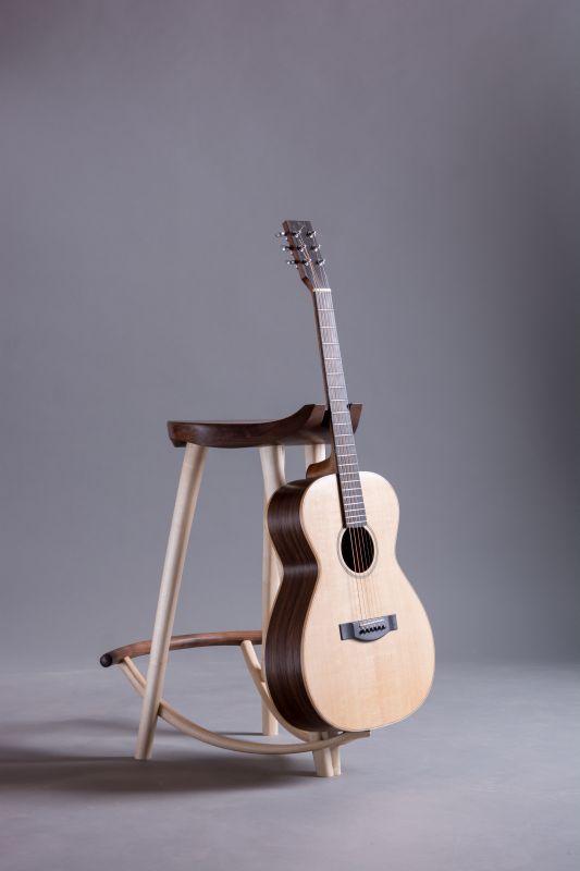 Tim Blackmore Wishbone Guitar Stool u0026 Steel String Guitar & 53 best stool images on Pinterest   Stools Woodwork and Guitar stand islam-shia.org