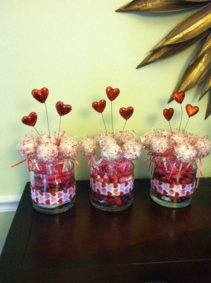 <3 Valentines Day Cake Pops   Yummies