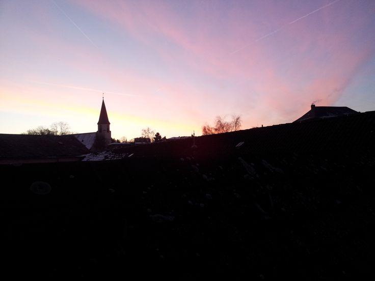 Sunrise in Königstein, Taunus