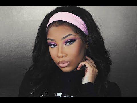 PINK MOD VINTAGE MAKEUP TUTORIAL   AALIYAHJAY http://makeup-project.ru/2017/12/24/pink-mod-vintage-makeup-tutorial-aaliyahjay/
