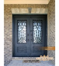 Complete Your House With A Beautiful Iron Door From Abby Iron Doors.