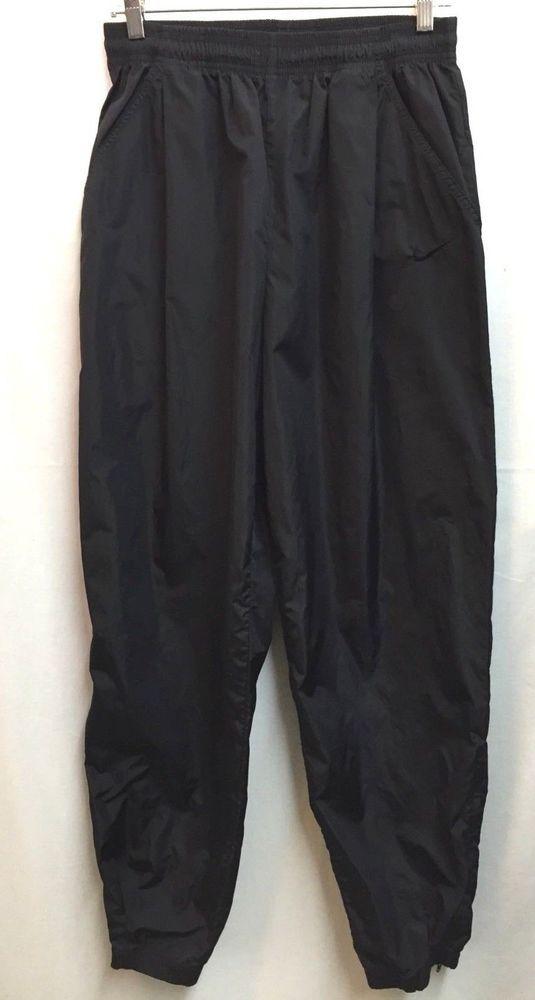 Nike Mens Nylon Wind Track Warm Up Gym Pants L Black  Nike  Pants ... 9567d3a76