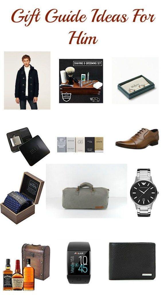 Gift guide ideas for him