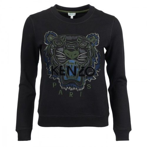 Kenzo tiger sweatshirt SS´17 online hos Milium