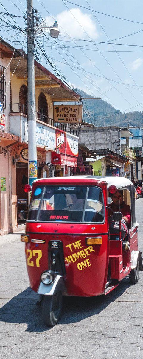 Tuk-Tuk in Panajachel | Guatemala