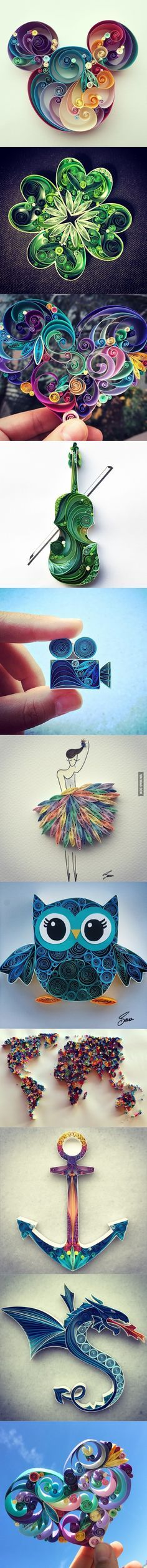 I just ADORE this . . . . . . . . . . . . . . . . . . . . . . . . . . . . . . . Turkish Artist Quits Her HR Job To Create Paper Art