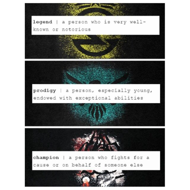 67 best june day images on pinterest books hunger games and obviously day is the legend and june is the prodigy but the champion i sciox Choice Image