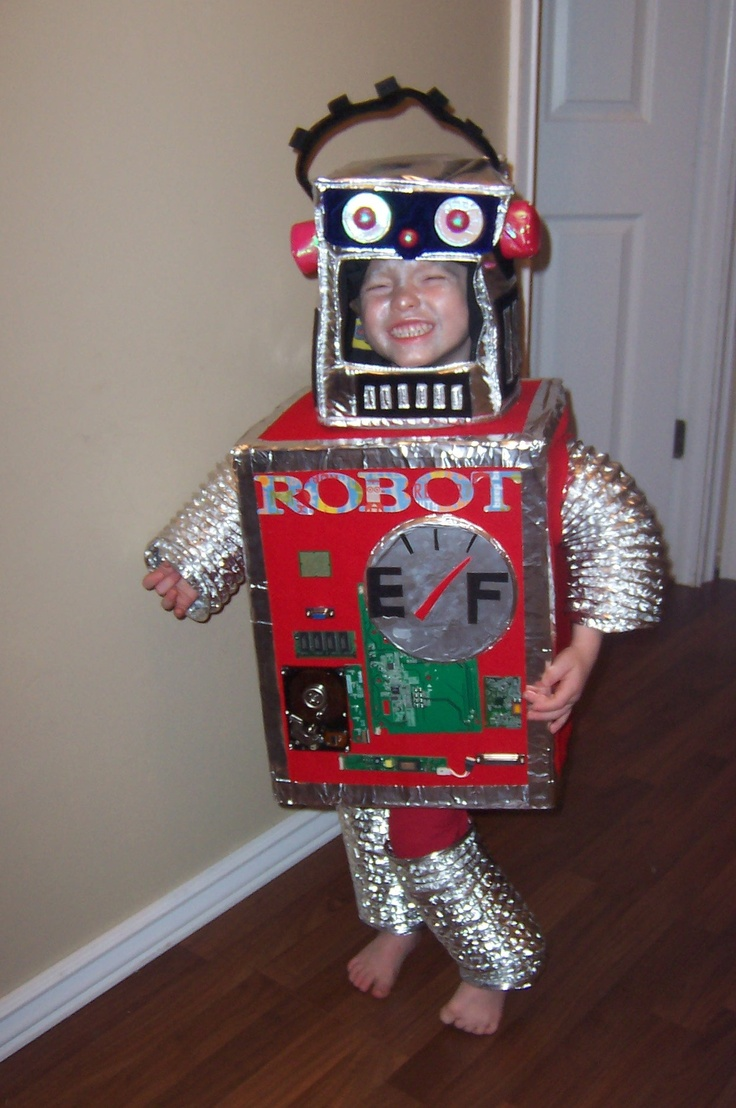 180 Best Images About Costume Robot On Pinterest Make A  sc 1 st  Meningrey & Best Robot Costume - Meningrey