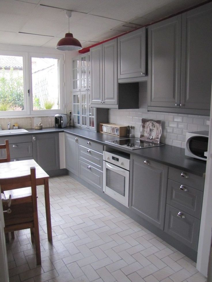 IKEA BODBYN kitchen Flooring I really like this the