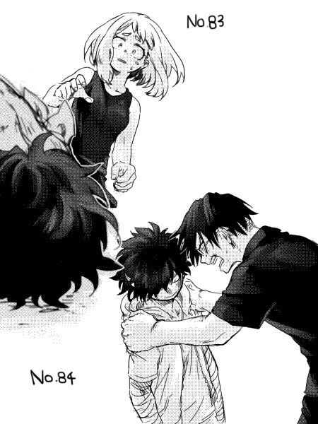 Boku no Hero Academia || Uraraka Ochako, Midoriya Izuku, Tenya Iida.