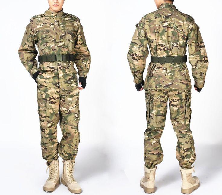 Camouflage Military Tactical Uniform Airsoft Paintball War Game Clothes Combat Uniform Jacket & Pants Multicam Suits