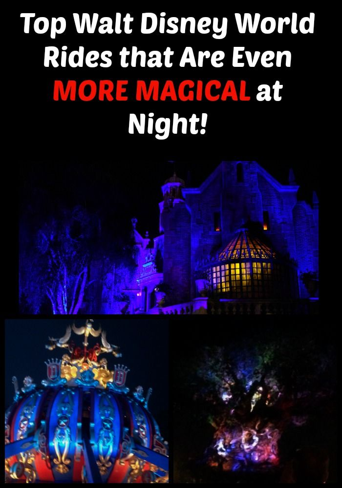 Top Walt Disney World rides that are even MORE magical at night!