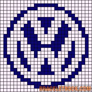 véhicule - transport - volswagen - point de croix - cross stitch - Blog : http://broderiemimie44.canalblog.com/