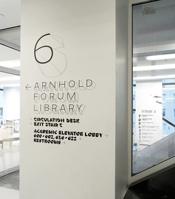 GRAPHIC AMBIENT » Blog Archive » The New School University Center, USA