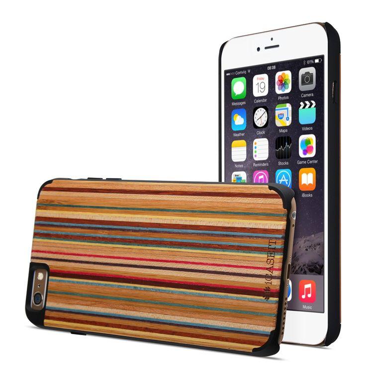 Amazon.com: iPhone 6 Case, Rainbow / Black - iPhone 6 Case, iCASEIT [Non-Slip] [Exact-Fit] Unique iPhone 6 Case Slim [Fit Series] [Thin Fit] Premium Non Slip for iPhone 6 (4.7 Display) - Rainbow / Black: Cell Phones & Accessories