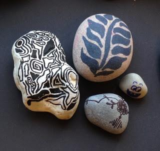 Miss AD: Malede sten og tips til ditto