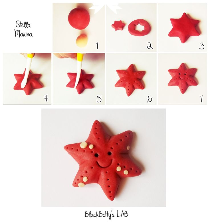 BlackBetty'sLab: açúcar Starfish Tutorial colar!