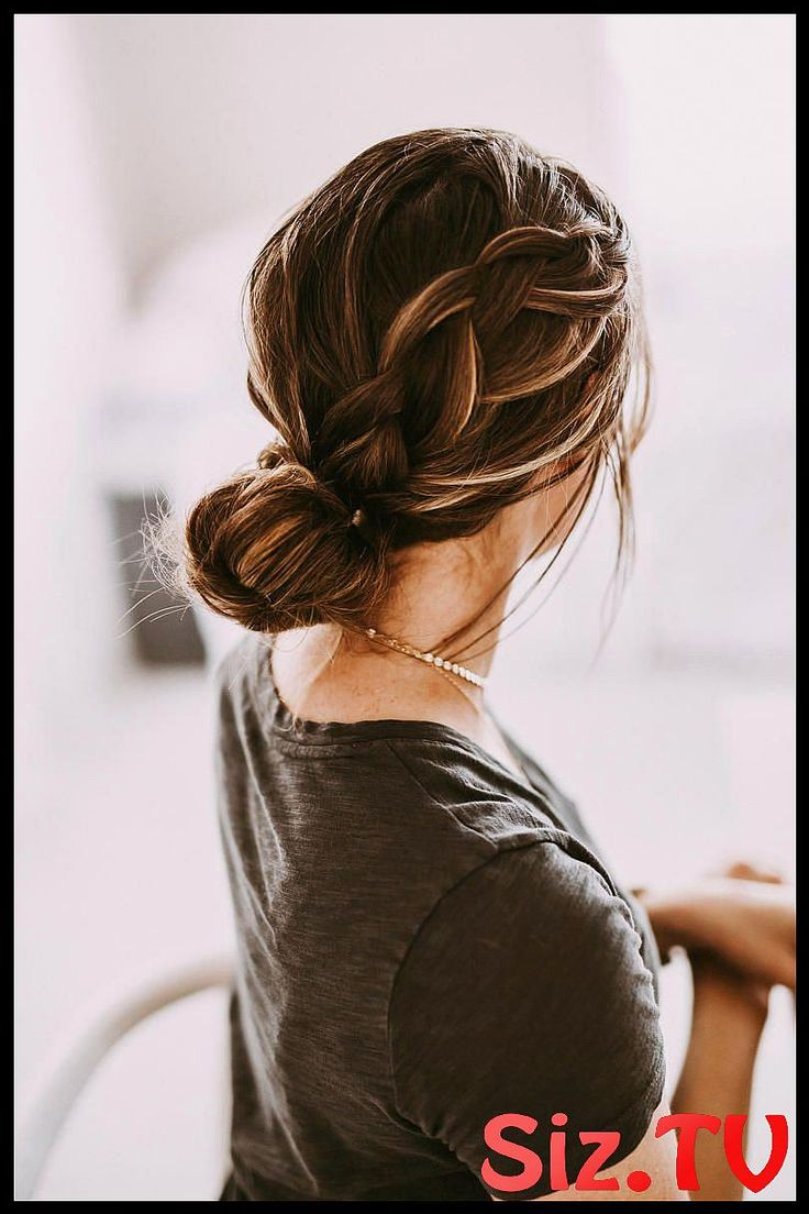 Messy Buns That Ll Still Have You Looking Polished Messy Buns That Ll Still Have You Looking Polished Master Of The Undone Done Look French Braid Twis...