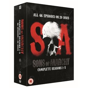 £50 Sons Of Anarchy: Season 1 - 5 (20 Discs)
