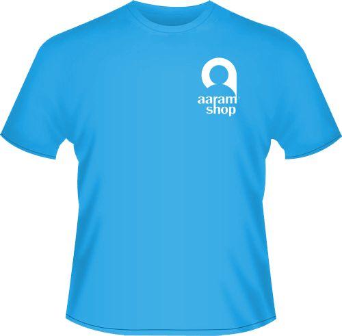 aaramshop sky blue t-shirt