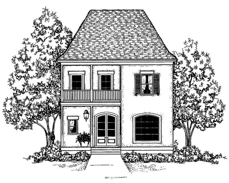дело картинки рисунки дома черно белые перегреться солнце, алена