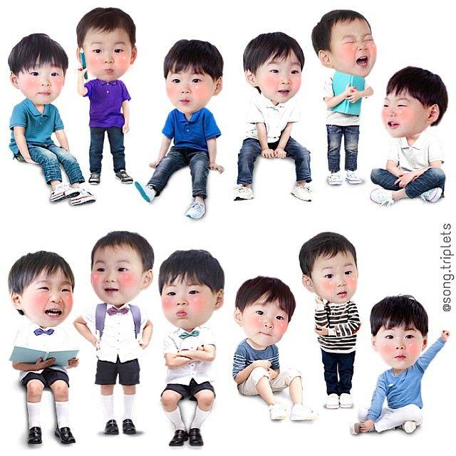 #songtriplets #daehan #minguk #manse