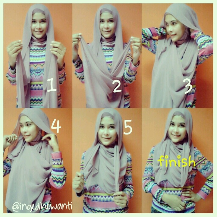 My first hijab tutorial