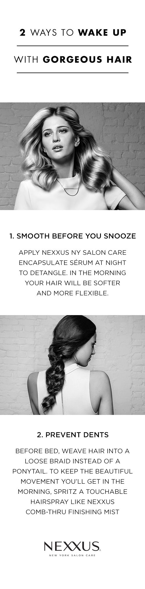 A.M. hair can be unpredictable—you never know what you'll see when you turn on the bathroom light. On a hectic morning, the last thing you want to worry about is your hair. We asked expert stylists how to wake up with strands that are work-ready (and troubleshoot if they're not).