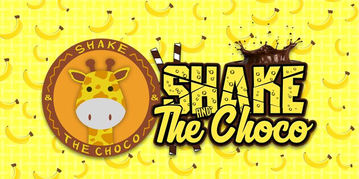 "FONT & LOGO ""SHAKE and THE CHOCO"""