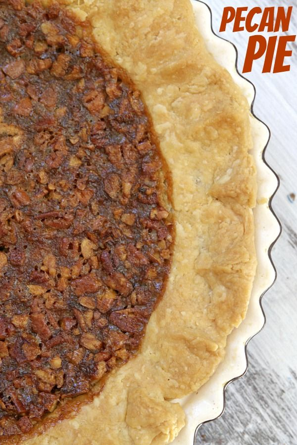 Pecan Pie - RecipeGirl.com @RecipeGirl {recipegirl.com} from the @Ree ...