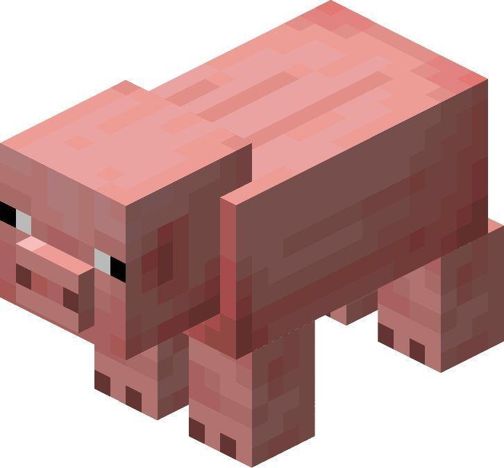 Png Minecraft Pig Minecraft Varken