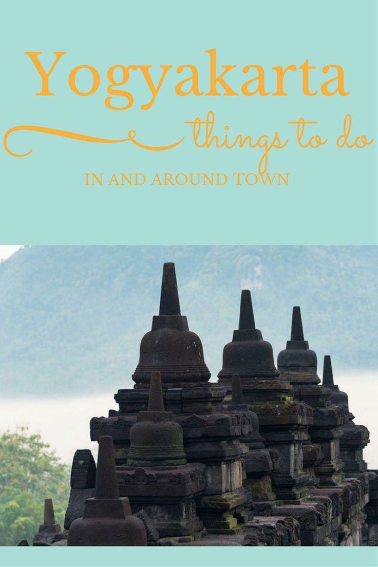 Things to do in Yogyakarta Indonesia - Mount Merapi, Borobudur Temples, Kota Gede and more!