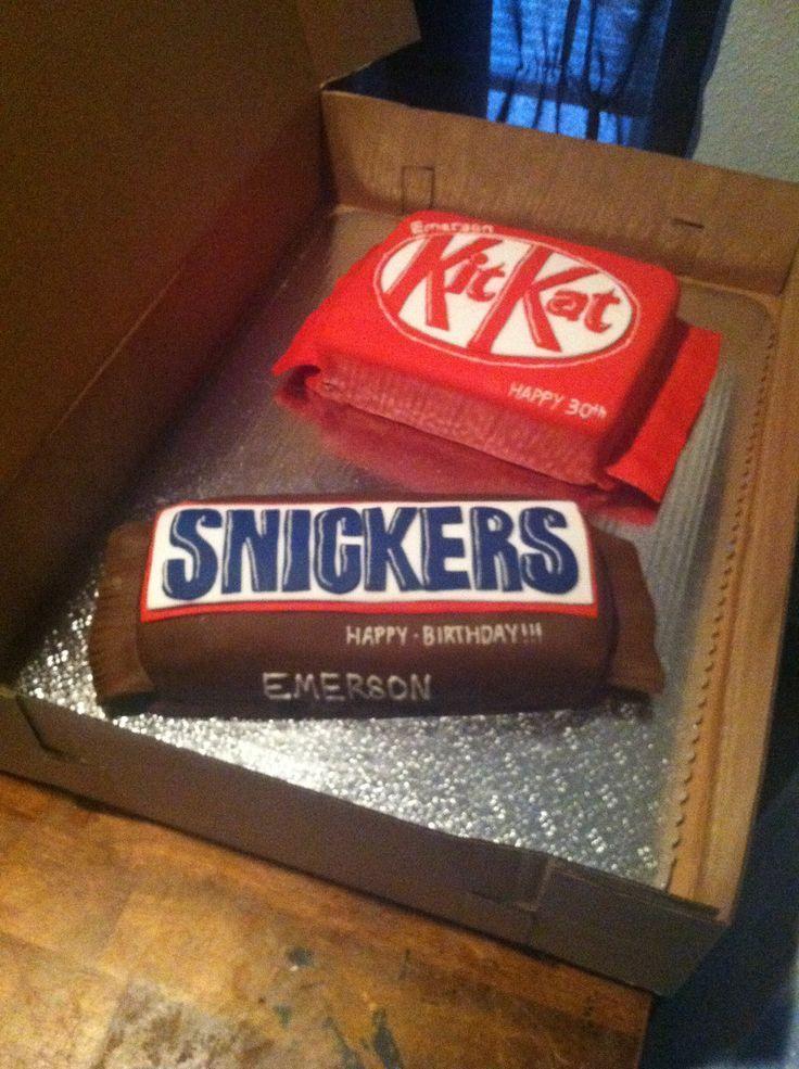 Cake That Looks Like A Giant Kit Kat Bar