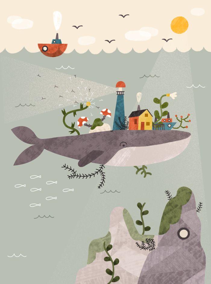 Illustrator Pau Morgan | ILLUSTRATION AGE #illustration #digitalart #painting