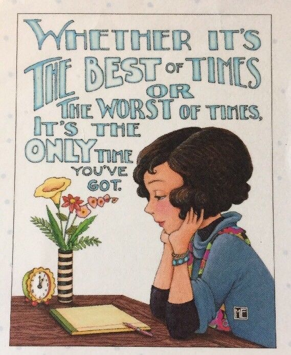 Whethet It's The Best-Handmade Fridge Magnet-Mary Engelbreit Artwork