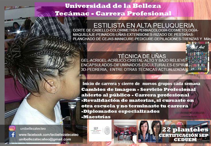 carrera de belleza Tecámac y Teotihuacán 5