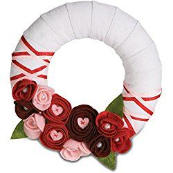 Pavilion Gift 89005 Signs of Happiness My Valentine Wreath, 6-Inch