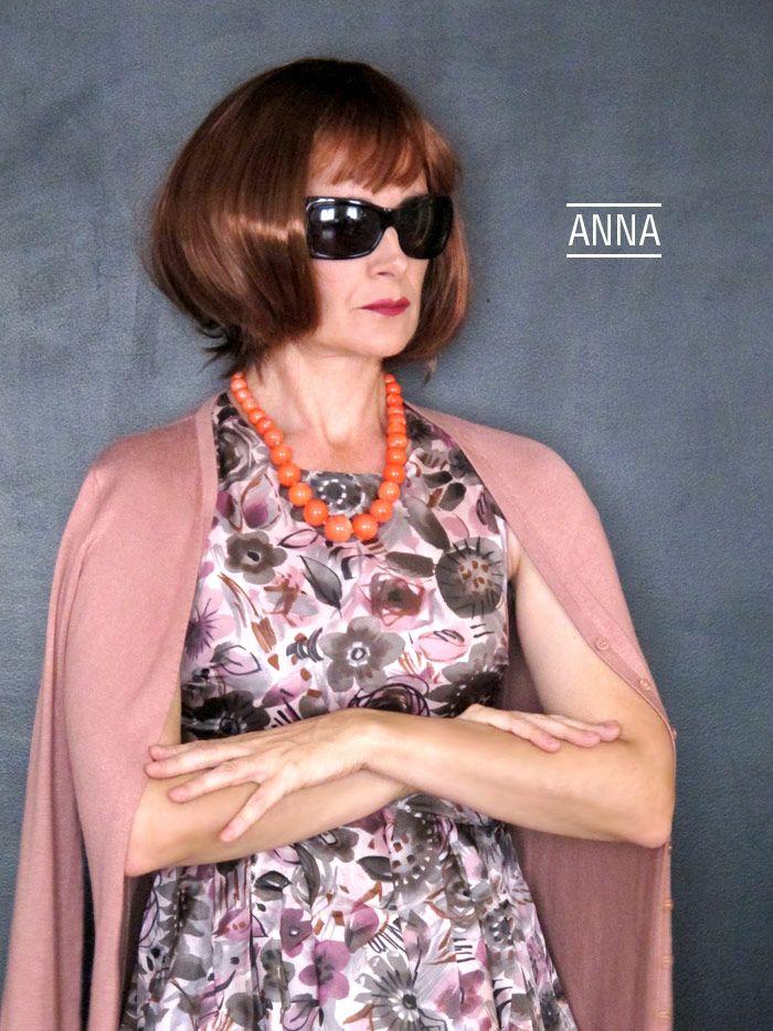Disfraz de Anna Wintour | Blog www.micasaencualquierparte.com