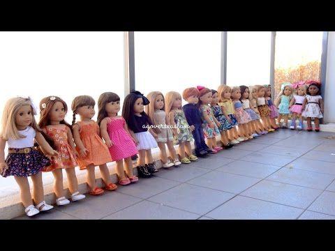 All My American Girl Dolls ~ Summer 2014 ~ HD PLEASE WATCH IN HD ~ - YouTube