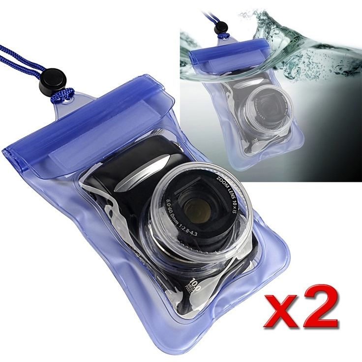 Insten Waterproof Camera Phone Case Cover #1040216