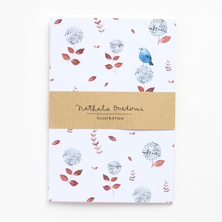 "Nathalie Ouederni A6 Muistivihko ""Blue Bird"""