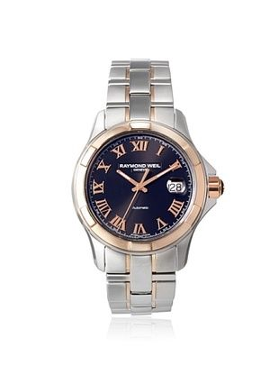 67% OFF Raymond Weil Men's 2970-SG5-00208 Parsifal Two-Tone Steel/Black Watch