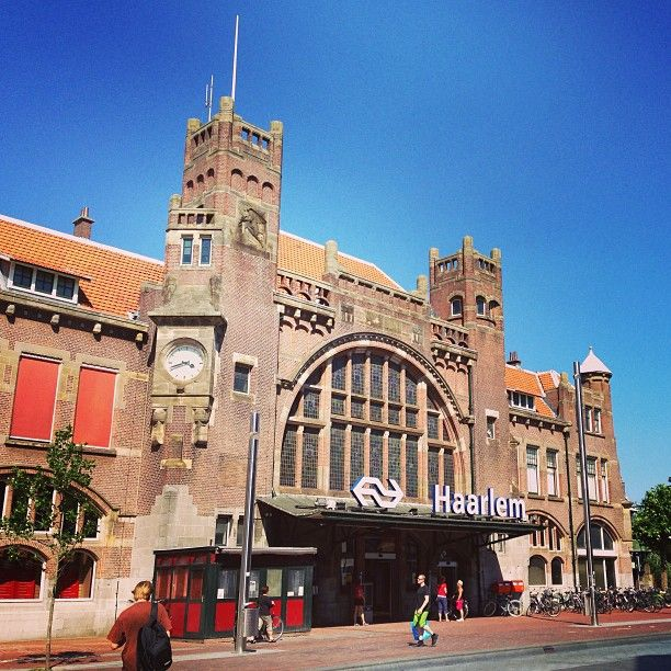 Haarlem got NL's first trainstation, nowadays this is our Central station (1908) in Art Nouveau/Jugendstil style