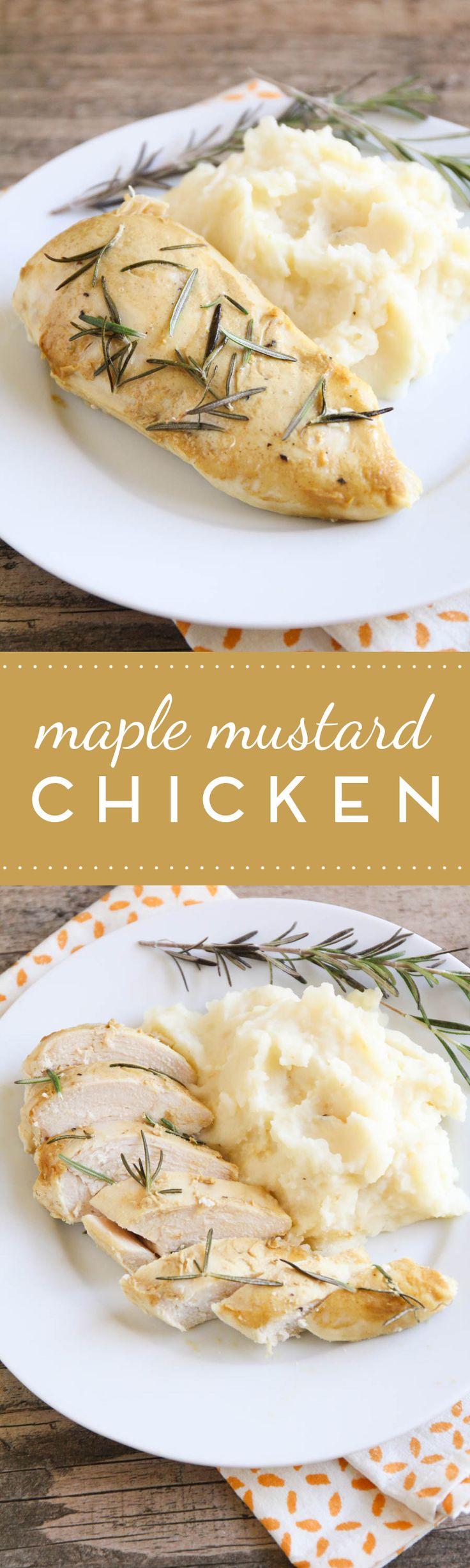 25+ bästa Maple mustard chicken idéerna på Pinterest ...