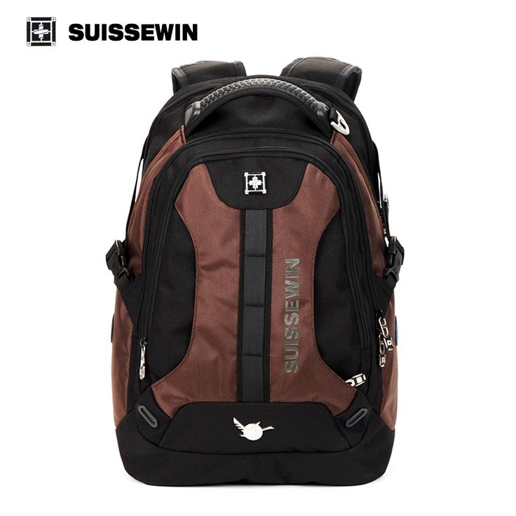 ==> [Free Shipping] Buy Best Suissewin New Mens Casual Business Backpack Travel Accessories Swissgear Wenger High Quality Brand 15.6 inch Laptop Bags Mochila Online with LOWEST Price | 32785731291