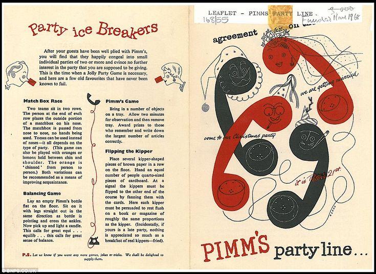 Vintage Pimm's advert