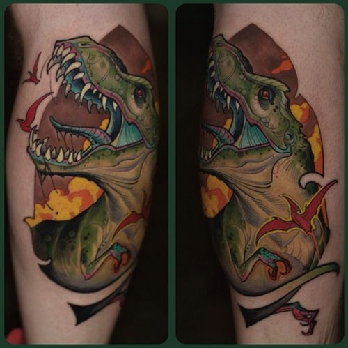 57 best images about t rex tattoos on pinterest great for Tribal rites tattoo piercing fort collins co