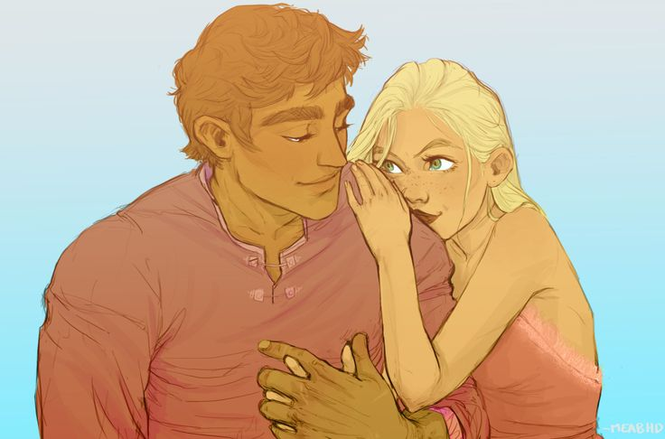 Celaena and Sam by meabhd. Assassin's Blade. Sarah J Maas