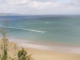 Tenby, South Wales. Summer sunshine