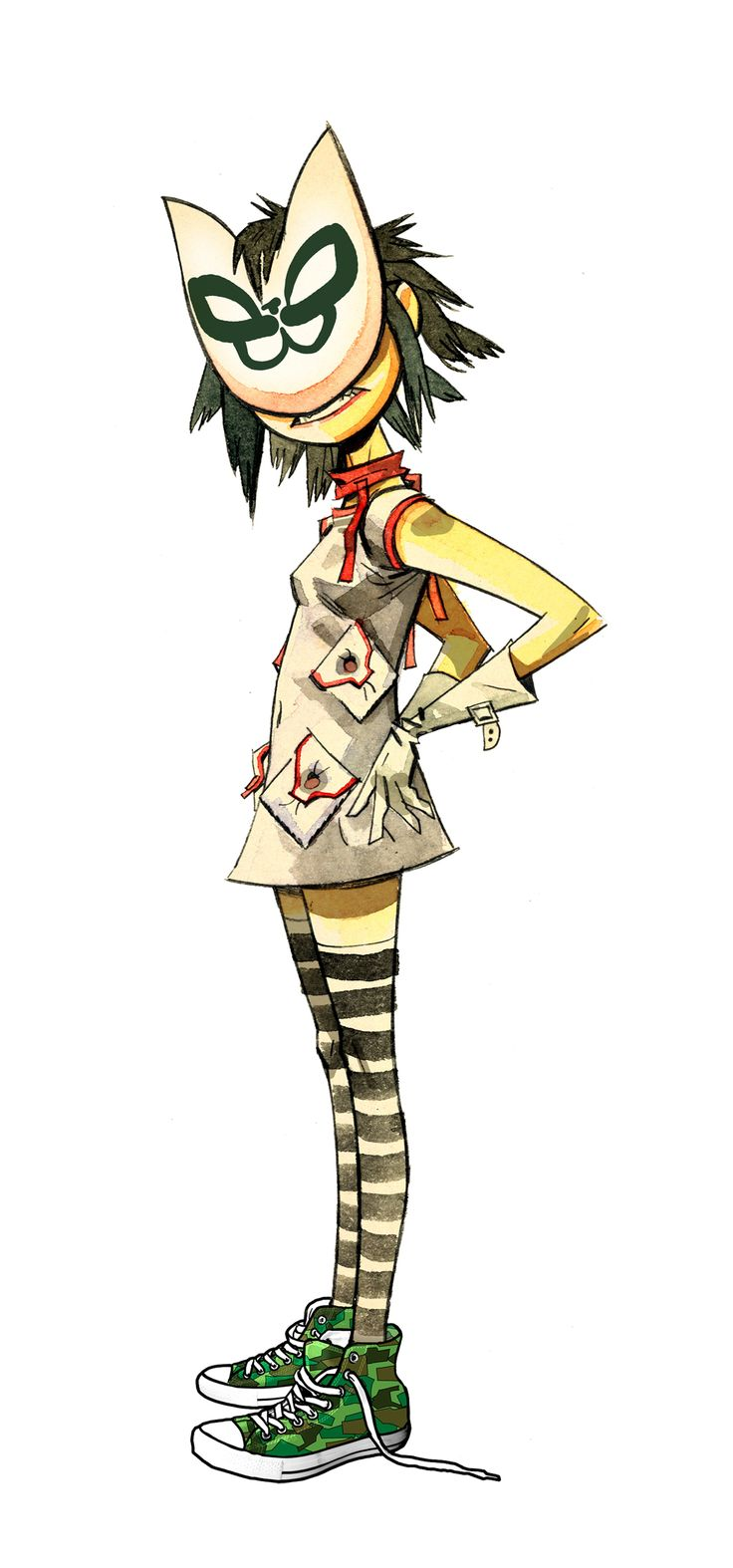 Noodle from The Gorillaz